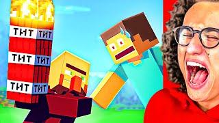 The FUNNIEST MINECRAFT ANIMATION You Will 100% Laugh At!