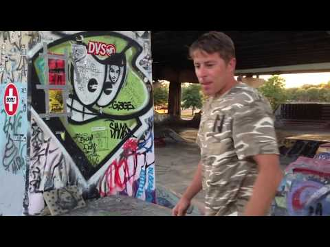 GREYSON FLETCHER AT FDR SKATEPARK RAW FOOTAGE