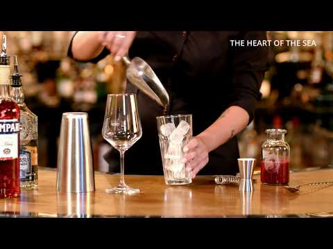 "#welovetoseeyouagain | AIDA Cocktail ""The Heart of the Ocean"""