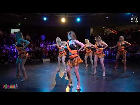Mambo Ladies (Stockholm) Stargate Show (BERLIN SALSA CONGRESS 2018)