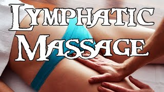 MASSAGE Lymphatic drainage - BODY DETOX