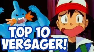Top 10 größte Versager der Pokémon Geschichte - RGE