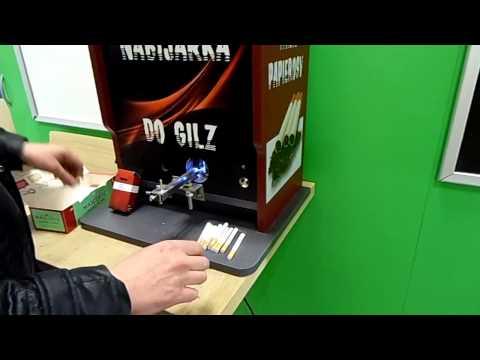 NABIJARKA GILZ PAPIEROSOWYCH. Maszyna do papierosów. Cigarette making. rolling. machine