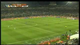 Mexico vs Francia GOL DE CHICHARITO World Cup Sudafrica 2010