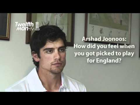 Alastair Cook Answers TwelfthMan Fans Questions