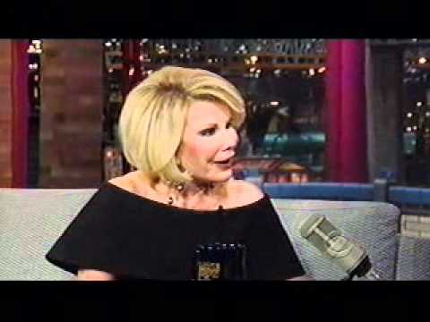 Joan Rivers The David Letterman Show 2011