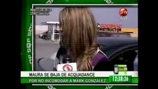 Maura Rivera se baja del Acquadance de la Teleton por Mark