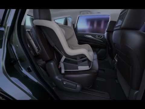 2013 Infiniti JX: доступ на 3й ряд сидений