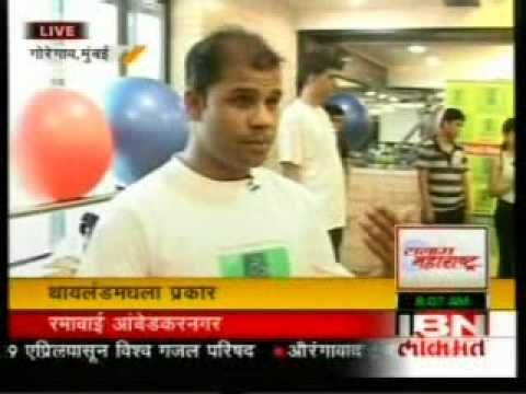 Kickboxing Live on IBN (Marathi) Part 1