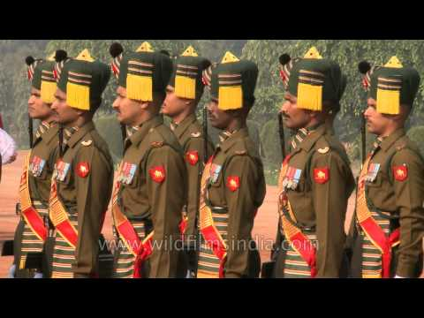 Formal ceremony of Guard Mounting at Rashtrapati Bhavan