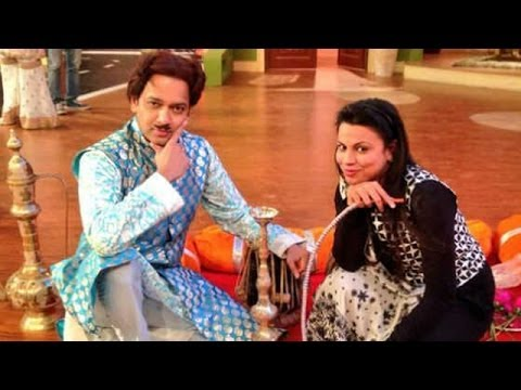 Comdey Nights with Kapil – Kapil's 'good friend' Preeti Simones on the set with Kapil Sharma