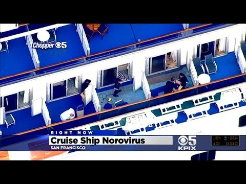 Norovirus Outbreak On Cruise To San Francisco; Ship Docked At Pier 27 For Scrubdown
