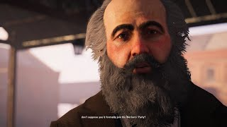 Assassin's Creed: Syndicate - All Karl Marx Scenes