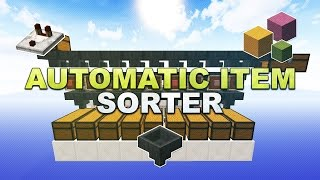 Minecraft - Automatic Item Sorter // Sortiermaschine (Overflow Protection & Silent) - Tutorial 1.12