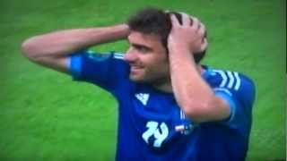 Euro 2012 stupid redcard!