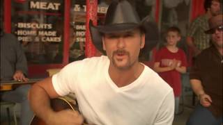 Watch Tim McGraw Southern Voice video