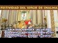 Festividad del Señor de Chalma en el Estado de México