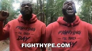 DEONTAY WILDER FINALLY BREAKS SILENCE ON GEORGE FLOYD DEATH & RACISM WITH POWERFUL MESSAGE