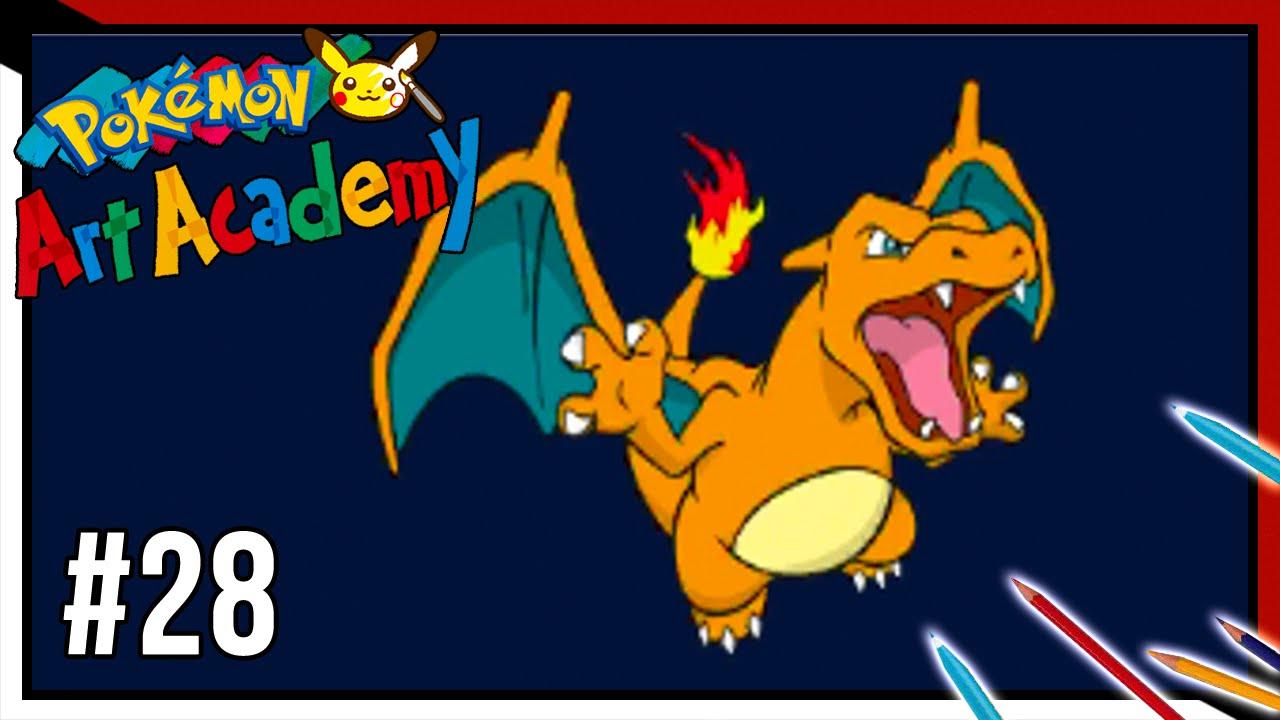 Pokemon Art Academy Charizard Pokémon Art Academy Lezione