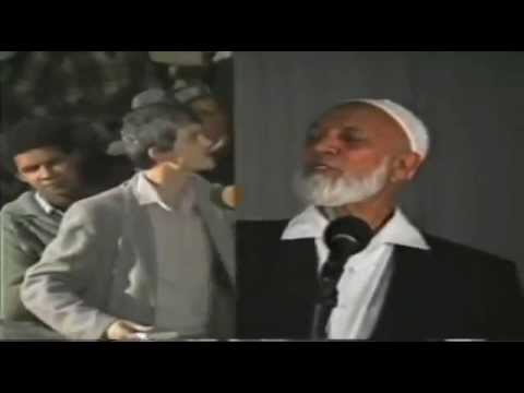 Ahmed Deedat Answer - Did The Disciples 'worship' Jesus As God? video
