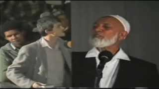 Ahmed Deedat Answer – Did the disciples 'worship' Jesus as God