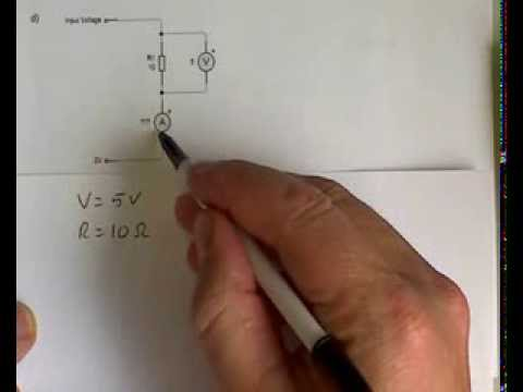 calculating voltage, current and resistance