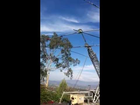 HF YAGI Antenna FLIP Bracket Oct 2011