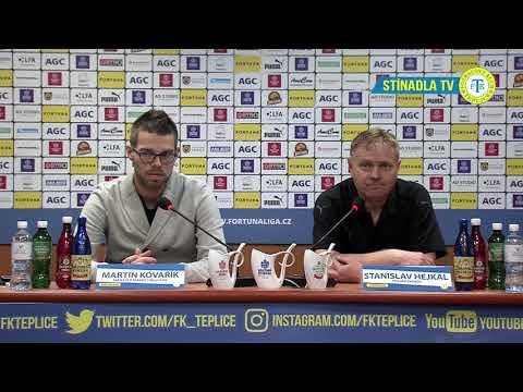 Tisková konference domácího týmu po utkání Teplice - Olomouc (11.11.2018)