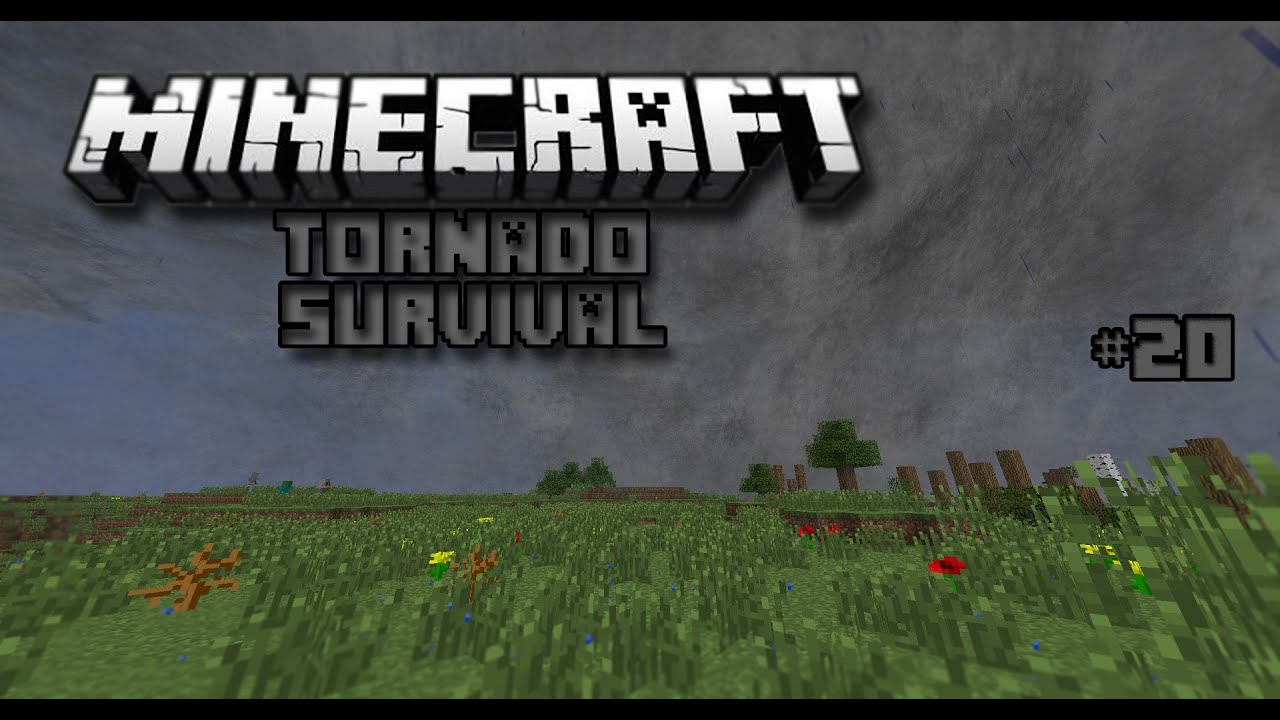 Minecraft Tornado Survival Season Episode EF TORNADO - Minecraft bei spielaffe