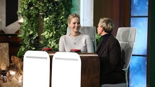 Download Song Jennifer Lawrence Answers Ellen's 'Burning Questions' Free StafaMp3