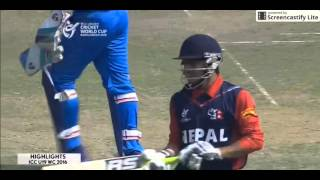 ICC U 19 World Cup 2016 India vs Nepal Highlights  India crush Nepal to top group | Ind vs Nep