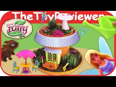 My Fairy Garden Magical Cottage by PlayMonster Grow and Plant Unboxing Toy Review by TheToyReviewer