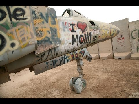 Boneyard in Balad, Iraq