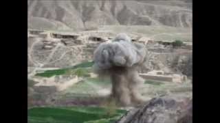 French army bombing Talibans! 2011