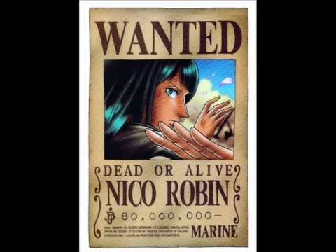 One Piece - All Known Bounties