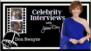 Forbes Riley interviews actor Don Swayze (1980's)
