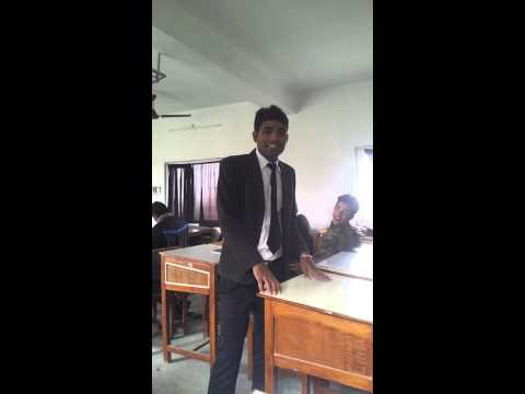 superb mimicry in nepal tourism and hotel management college