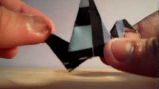 Origami Bird Flaps It's Wings