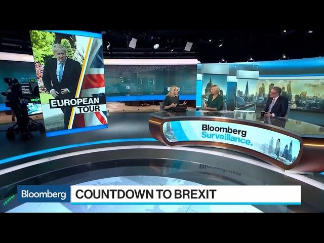 Brexit Tough Talk as Merkel Challenges Johnson on 30-Day Solution