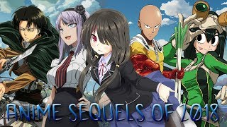 Anime Sequels of 2018