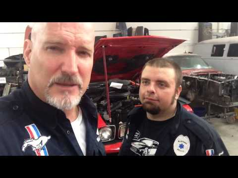 New Modified Radiator Going In Tim's 1973 Mach 1 Ford Mustang - Day 8 video