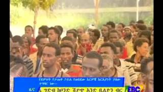Molla Asegedom welcome ceremony in Adama