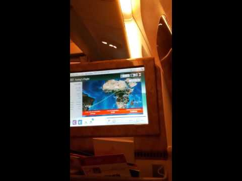 Emirates Airlines 777-Business Class-ICE