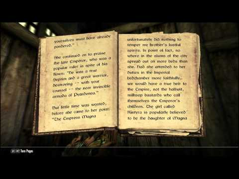 Let's Read Skyrim: Biography of the Wolf Queen