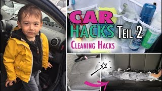 Auto Hacks Teil 2 | Cleaning Car Hacks | Putzroutine | mamiblock