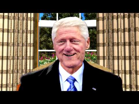 Bill Clinton sings
