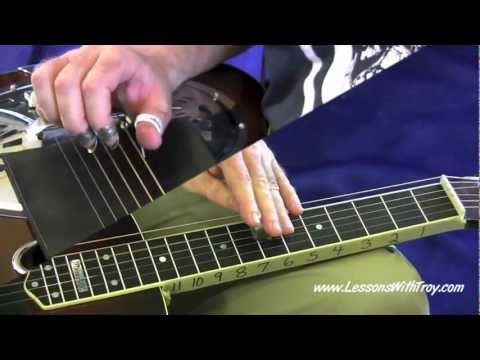 Bluesy Scales, Shapes & Patterns - Part 1 - [HD] For Dobro By Troy Brenningmeyer
