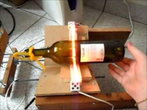 Cortador de garrafas de vidro