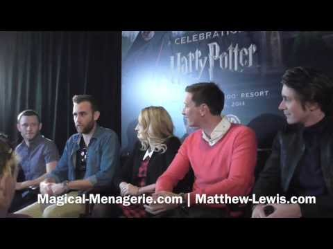 Cast Press Conference [A Celebration of Harry Potter]