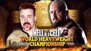 WWE Hell in a Cell 2012 Match Card | Sheamus(c) vs